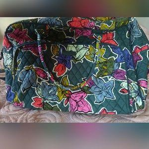 Discontinued Vera Bradley Weekender Travel Bag